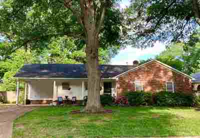 Shelby County Single Family Home Contingent: 1118 Perkins