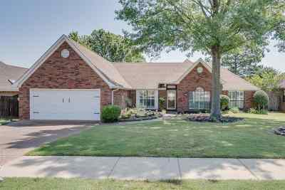 Collierville Single Family Home Contingent: 1336 Wolf Lair