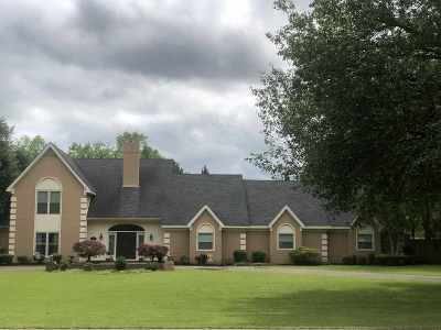 Bartlett Single Family Home For Sale: 9269 Davies Plantation