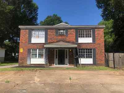 Memphis Single Family Home For Sale: 1587 Cherry