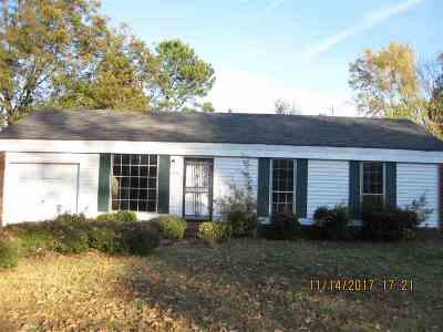 Memphis TN Single Family Home For Sale: $66,750