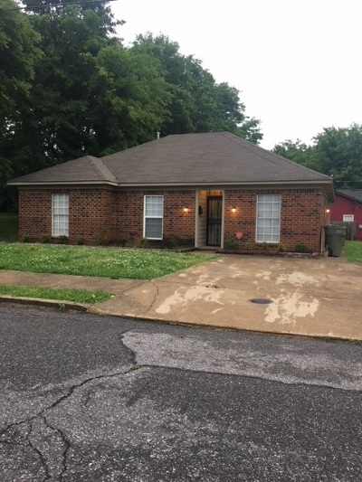 Memphis Single Family Home For Sale: 1000 N Second