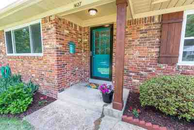 Shelby County Single Family Home For Sale: 1427 Wheaton