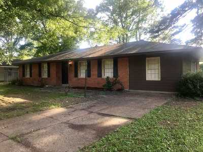Memphis Single Family Home For Sale: 4843 Dianne