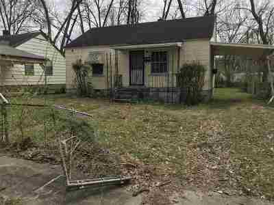 Memphis Single Family Home For Sale: 1016 Prescott
