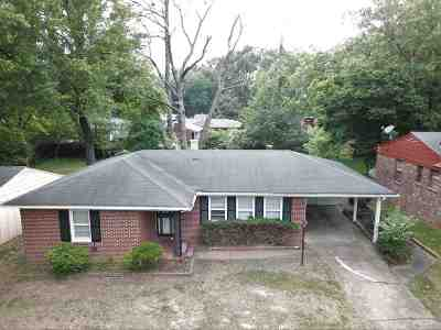 Memphis Single Family Home For Sale: 1443 S White Station