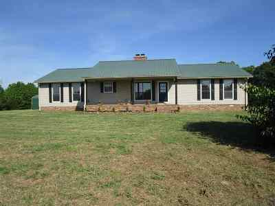 Selmer Single Family Home For Sale: 5201 Purdy