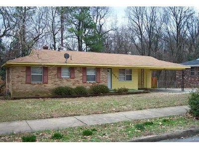 Memphis Single Family Home For Sale: 2303 St Elmo