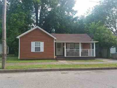Memphis Single Family Home For Sale: 3171 Nathan