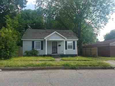 Memphis Single Family Home For Sale: 3165 Nathan