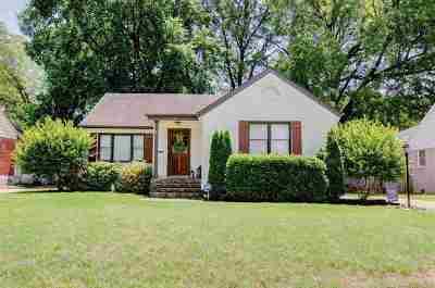 Memphis Single Family Home For Sale: 3569 Aurora