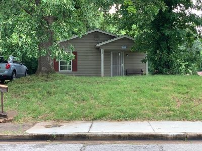Memphis TN Single Family Home For Sale: $34,900