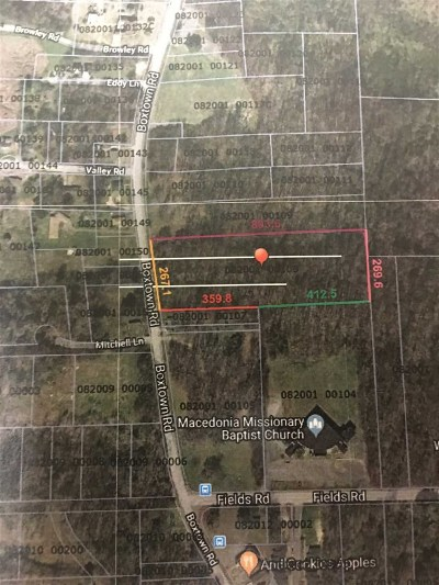 Memphis Residential Lots & Land For Sale: 3552 Boxtown