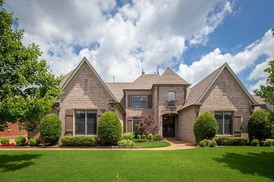 Collierville Single Family Home For Sale: 1298 Bull Creek
