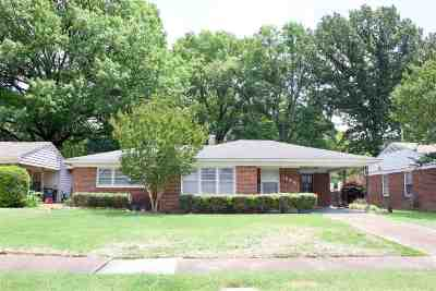 Memphis TN Single Family Home For Sale: $135,000
