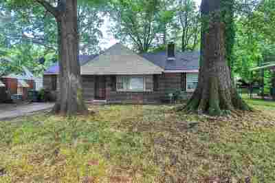 Memphis TN Single Family Home For Sale: $168,000