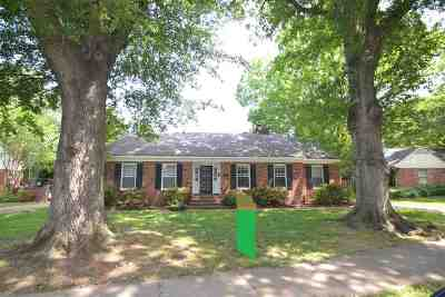 Memphis TN Single Family Home For Sale: $225,000