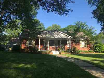 Shelby County Single Family Home Contingent: 1131 W Perkins