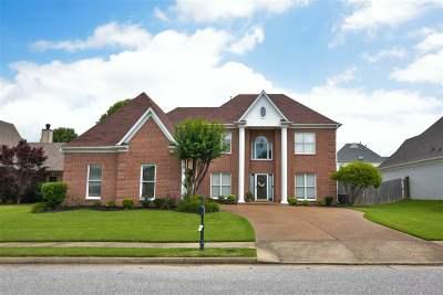 Memphis Single Family Home For Sale: 9186 Wilderridge