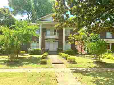 Single Family Home For Sale: 1737 Overton Park