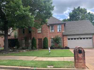 Collierville Single Family Home Contingent: 1240 Sugar