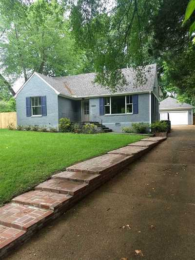 Memphis Single Family Home For Sale: 3804 Kenwood