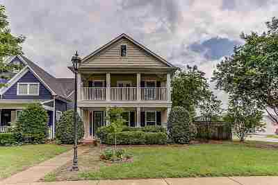 Memphis Single Family Home Contingent: 1440 Island Place