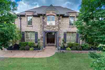 Collierville Single Family Home Contingent: 1736 Cypress Springs