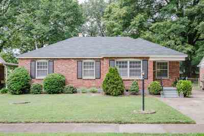 Shelby County Single Family Home Contingent: 1639 Ivy