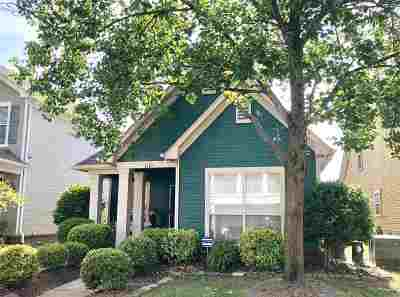 Memphis Single Family Home For Sale: 1101 River Isle