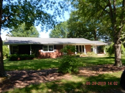 Corinth MS Single Family Home Pending: $100,000