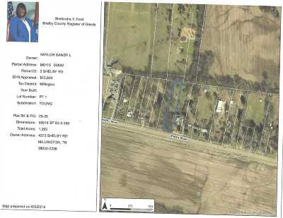 Millington Residential Lots & Land For Sale: 4354 Shelby