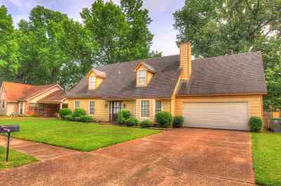 Memphis Single Family Home For Sale: 7165 Chevy Chase
