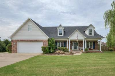 Atoka Single Family Home For Sale: 47 Linda