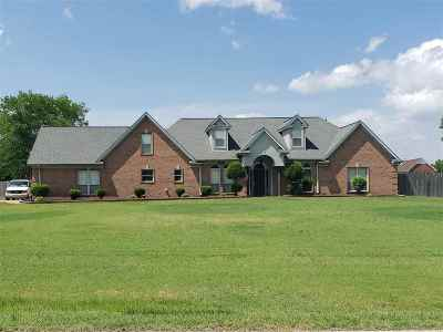 Olive Branch Single Family Home For Sale: 7860 Stateline