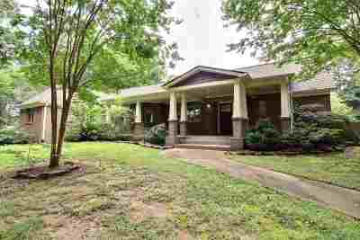 Collierville Single Family Home Contingent: 442 Peterson Lake