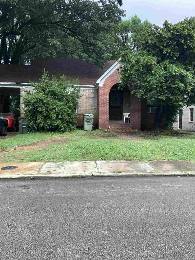 Single Family Home For Sale: 322 N Claybrook