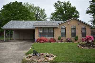 Millington Single Family Home For Sale: 4760 Janie