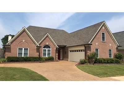 Collierville Single Family Home Contingent: 1295 River Bank