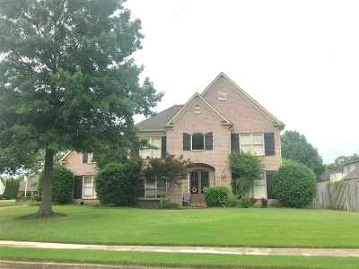 Collierville Single Family Home For Sale: 2018 W Houston