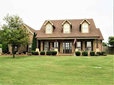 Tipton County Single Family Home For Sale: 80 Palmer