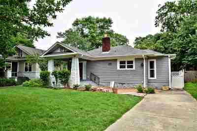 Memphis Single Family Home For Sale: 664 N Idlewild