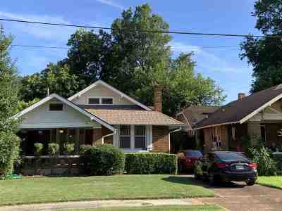 Memphis Single Family Home For Sale: 2297 Evelyn