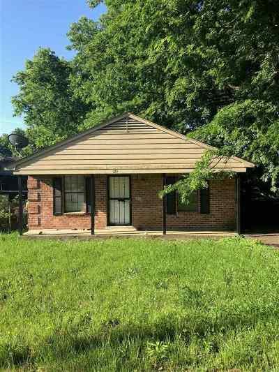 Memphis Single Family Home For Sale: 123 Modder