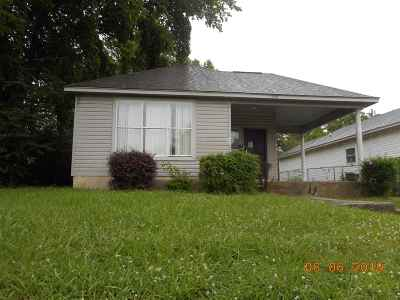 Memphis Single Family Home For Sale: 1368 Gill