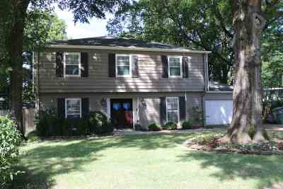 Memphis Single Family Home For Sale: 1611 Page
