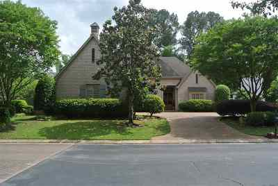 Memphis Single Family Home Contingent: 8471 Wood Manor
