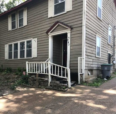 Memphis Single Family Home For Sale: 243 N Montgomery
