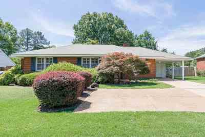 Memphis Single Family Home For Sale: 5375 Quince