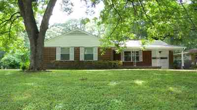 Memphis Single Family Home For Sale: 3399 Dogwood